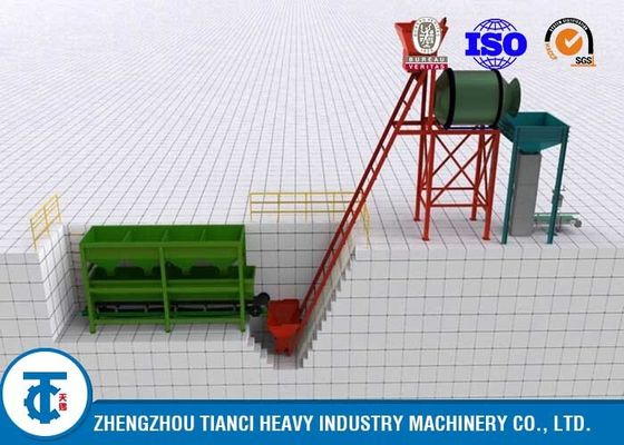 Big Capacity High Performance BB Bulk Blending Fertilizer Production Line