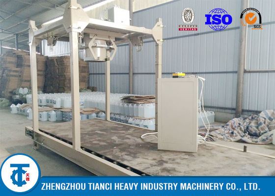 1000kg Per Bag NPK Fertilizer Packaging Machine PLC Touch Screen System Controlled