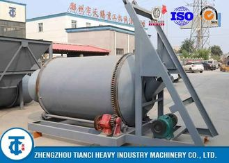 15-22kw Fertilizer Blending Equipment / Fertilizer Mixing Equipment PLC Control